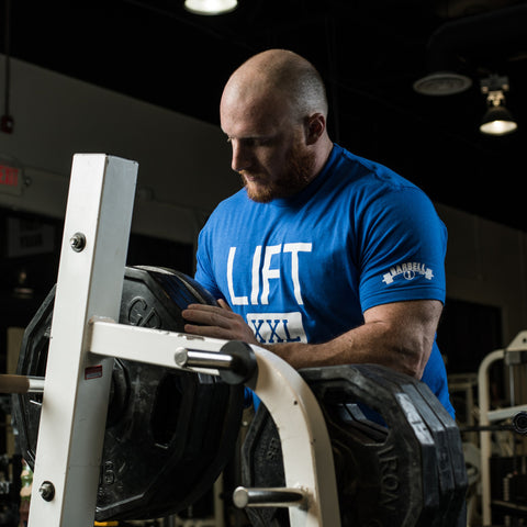 LIFT XXL Blue T-Shirt