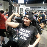 Bench Press Commander Black START PRESS RACK PR T-Shirt