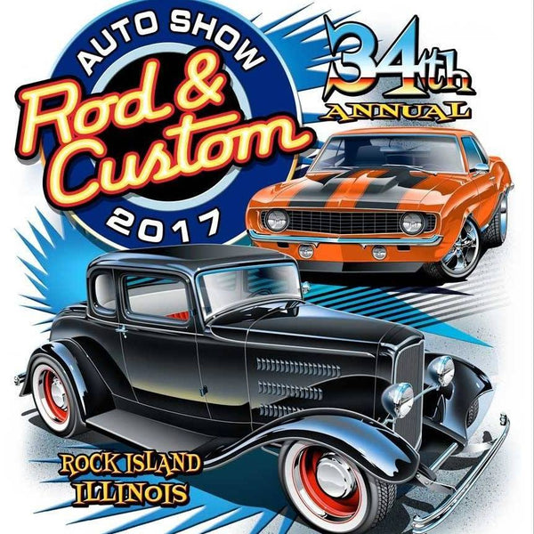 34th Annual Rod & Custom Auto Show 2017