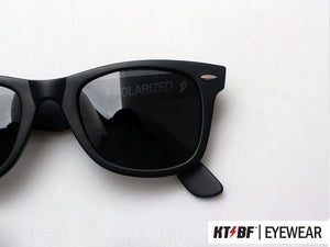 KTBF™ | SHIELD polarized sunglasses - Matte Black / Black