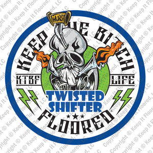 "KTBF ""Twisted Shifter"" Garage Banner 