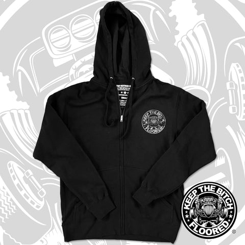 """CORPORATE"" KTBF zipper hoodie"