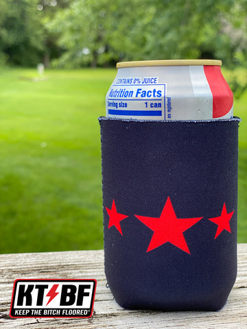 "KTBF™ ""Retro Rod"" Can Cooler!"