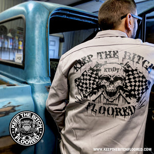 "KTBF ""Death Proof"" garage shirt 