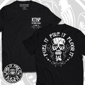 "FUEL IT, FIRE IT, FLOOR IT - ""Skully"" short sleeve"