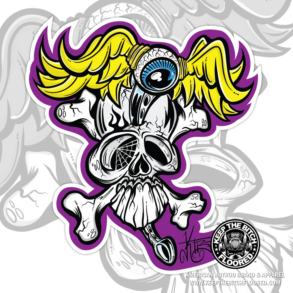 "5"" vinyl ""Flying Dutchman"" sticker/decal"