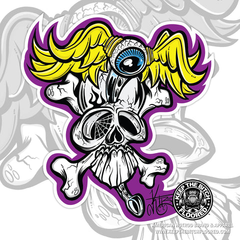 "5"" vinyl ""Twisted Shifter"" sticker/decal"