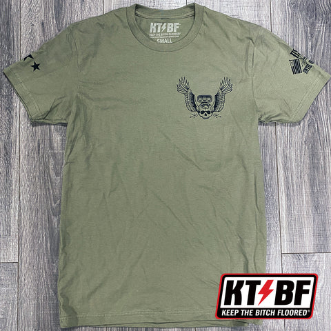 "KTBF ""Military"" short sleeve"