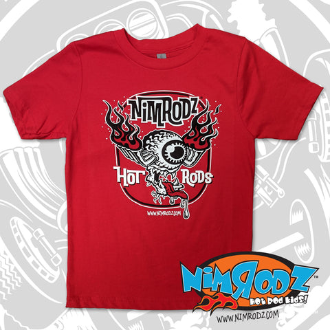 "NIMRODZ® ""Eyeball-N-Pipes"" short sleeve"