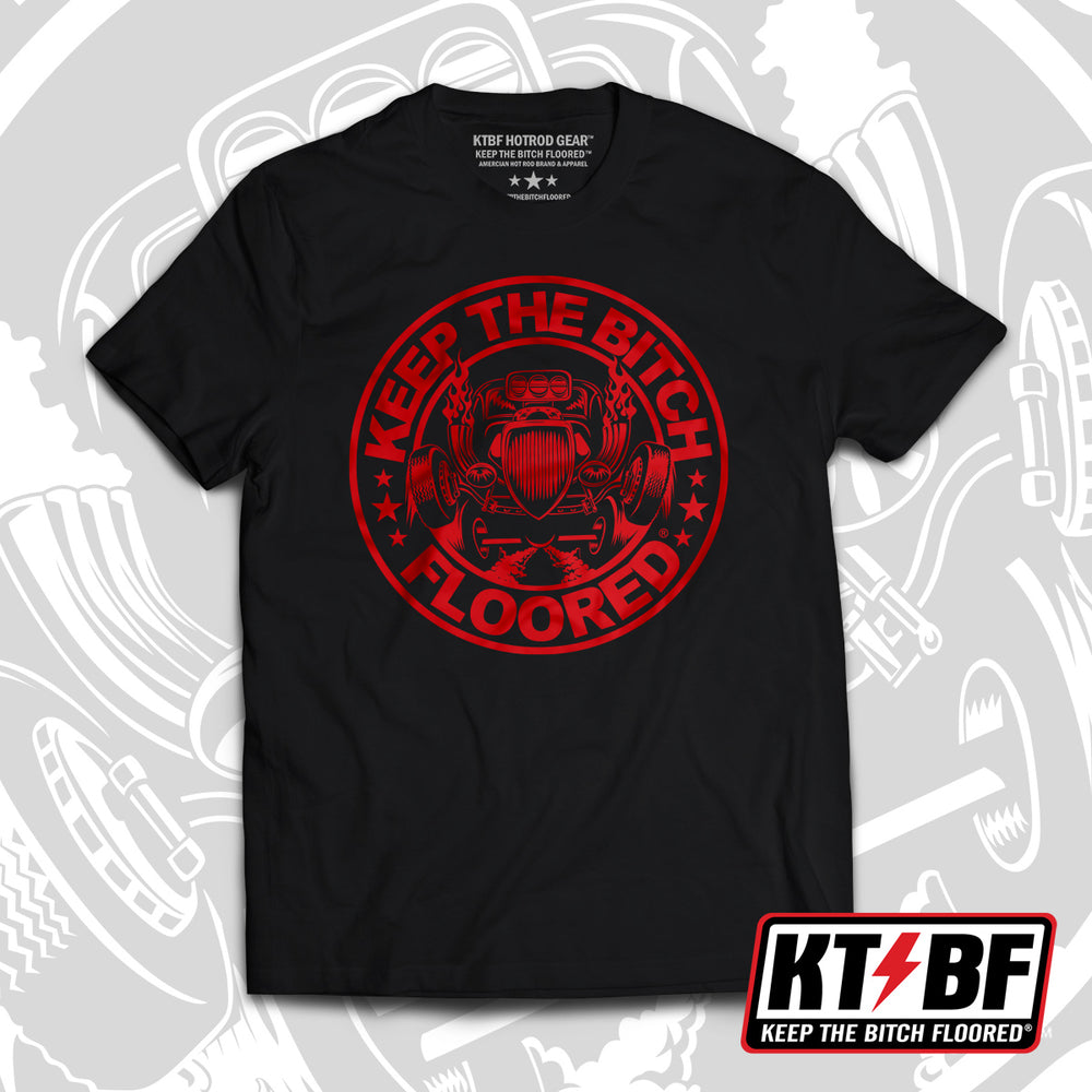 "New & Limited! - KTBF ""RED ZONE"" short sleeve"