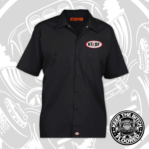 "KTBF ""RetroRod"" garage shirt 