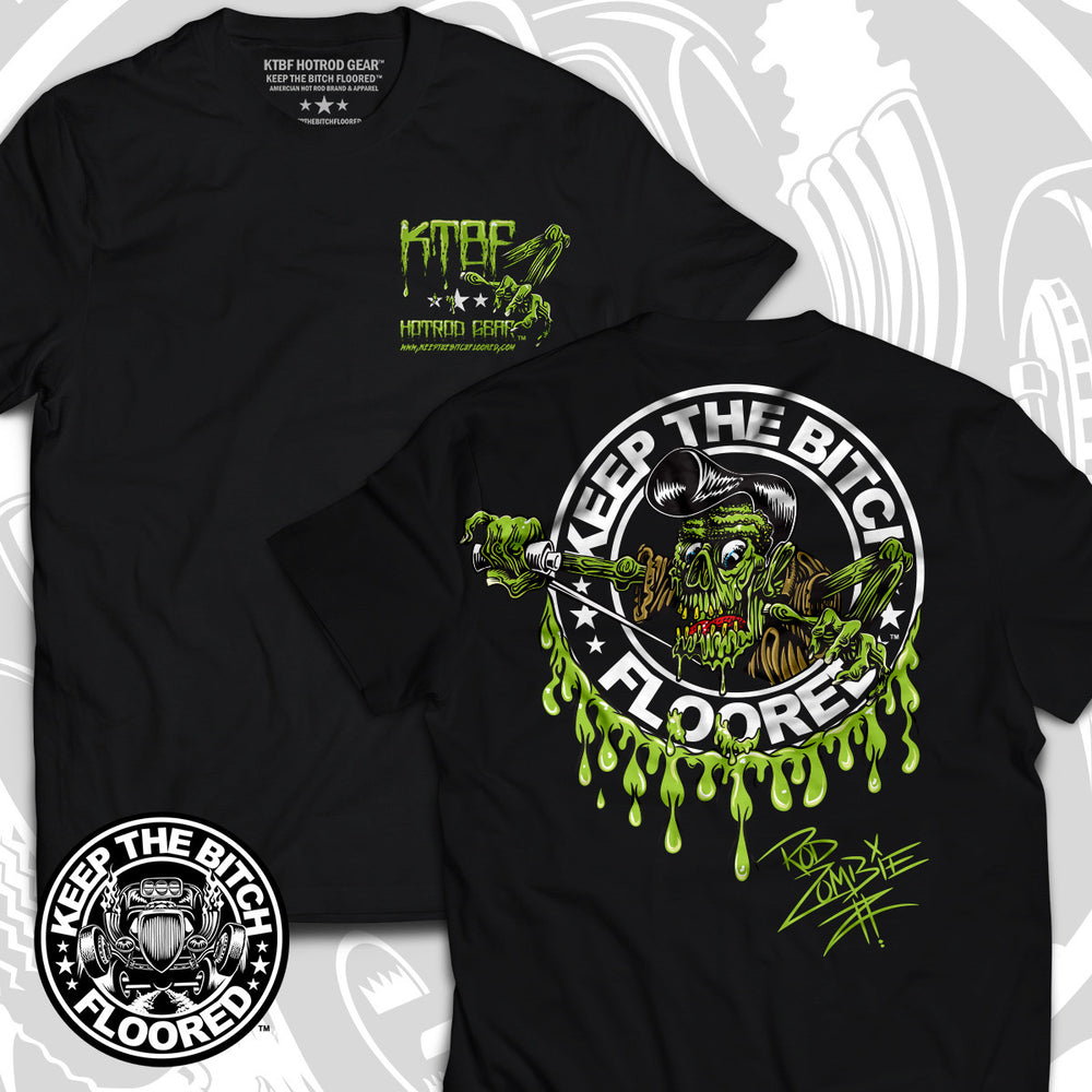 "KTBF ""Rod Zombie"" short sleeve"