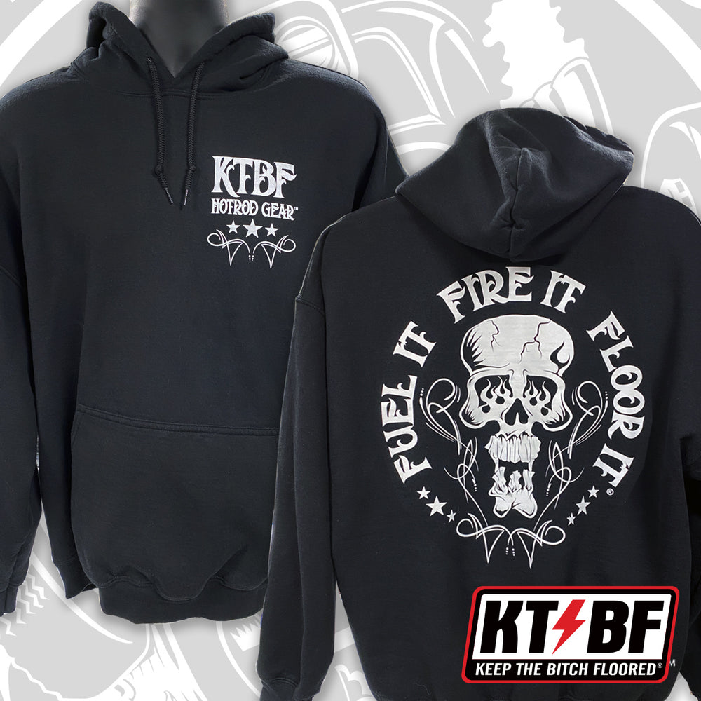 "FFF ""SKULLY"" Pullover Hooded Sweatshirt"