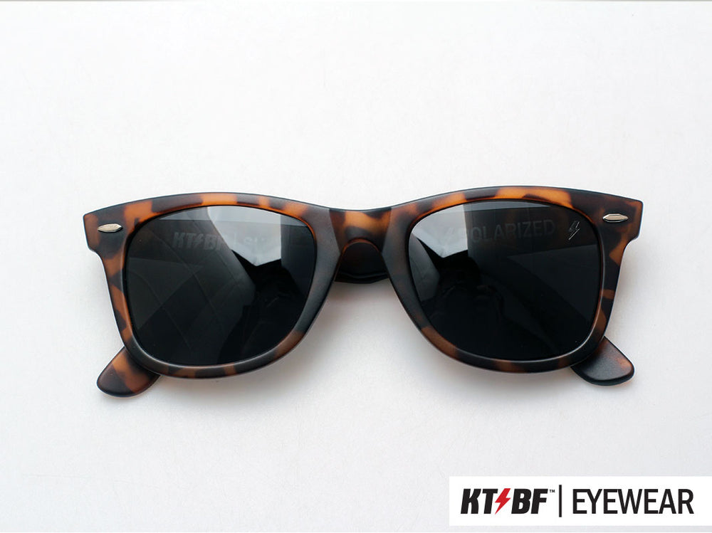 KTBF™ | SHIELD polarized sunglasses - Tortoise Shell / Black