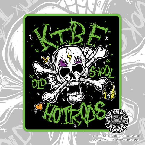 "5"" vinyl KTBF ""Old Skool Tattoo"" sticker/decal"
