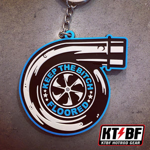 "KTBF ""Turbo"" Keychain"