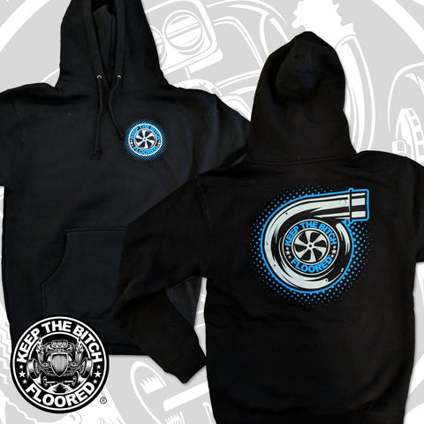 "KTBF ""Turbo"" Pullover Hooded Sweatshirt"