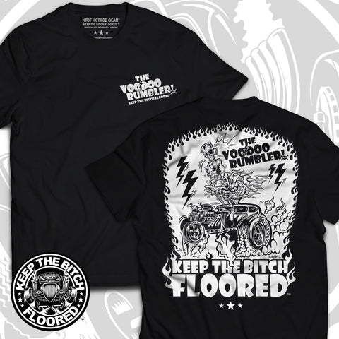 "KTBF ""VooDoo Rumbler"" short sleeve"