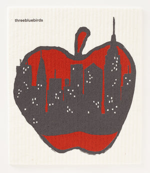 Big Apple Swedish Dishcloth