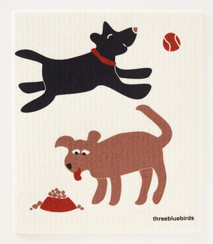 Dogs Swedish Dishcloth