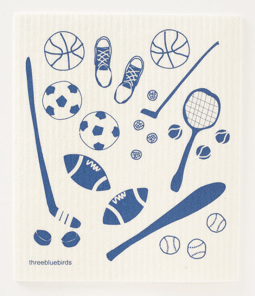 Sports Swedish Dishcloth