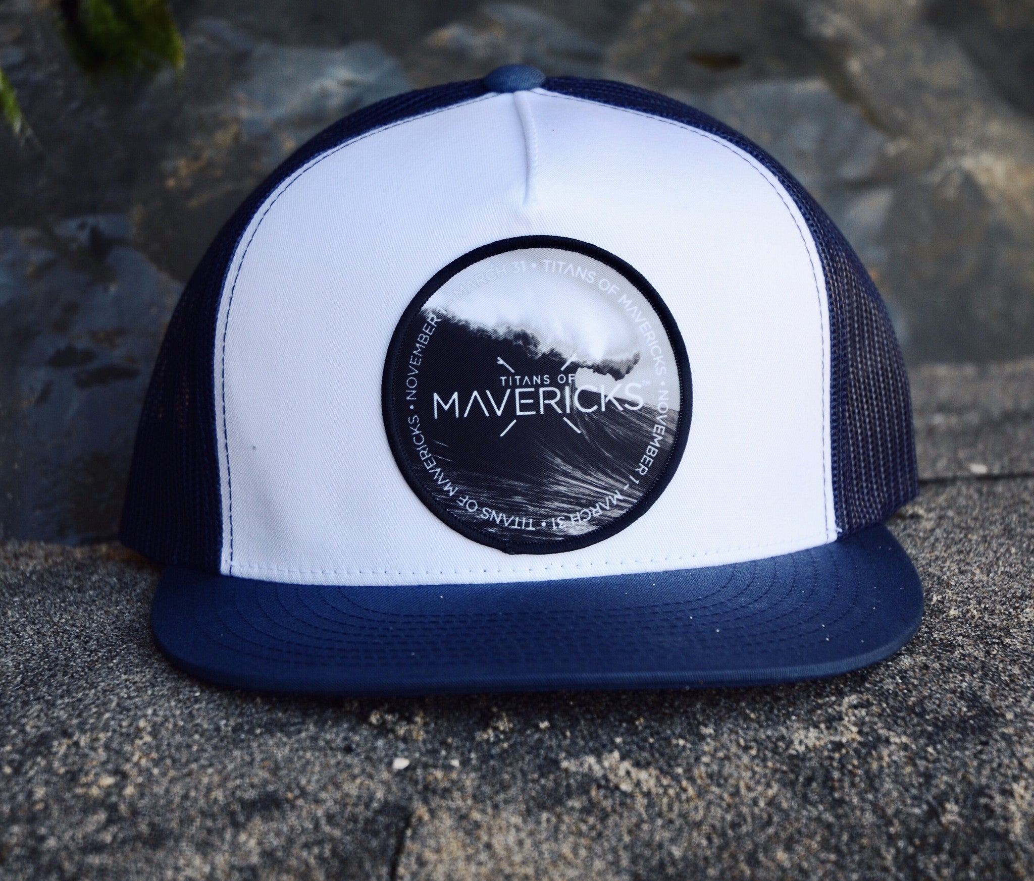 Titans of Mavericks Patch Hat