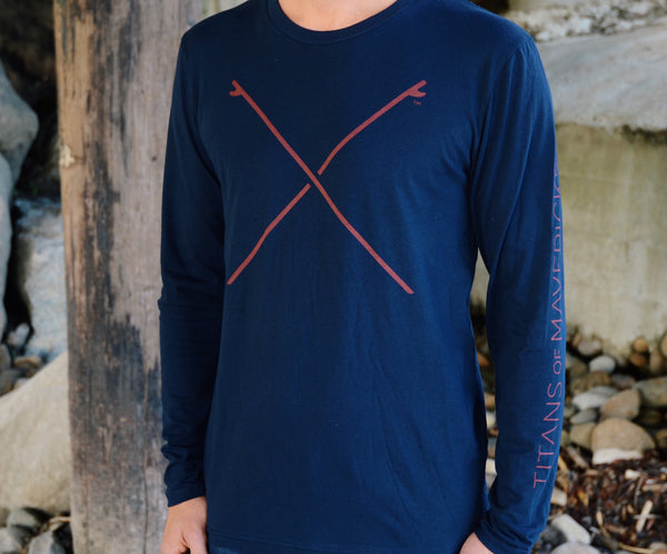 Crossed Boards Long Sleeve Shirt
