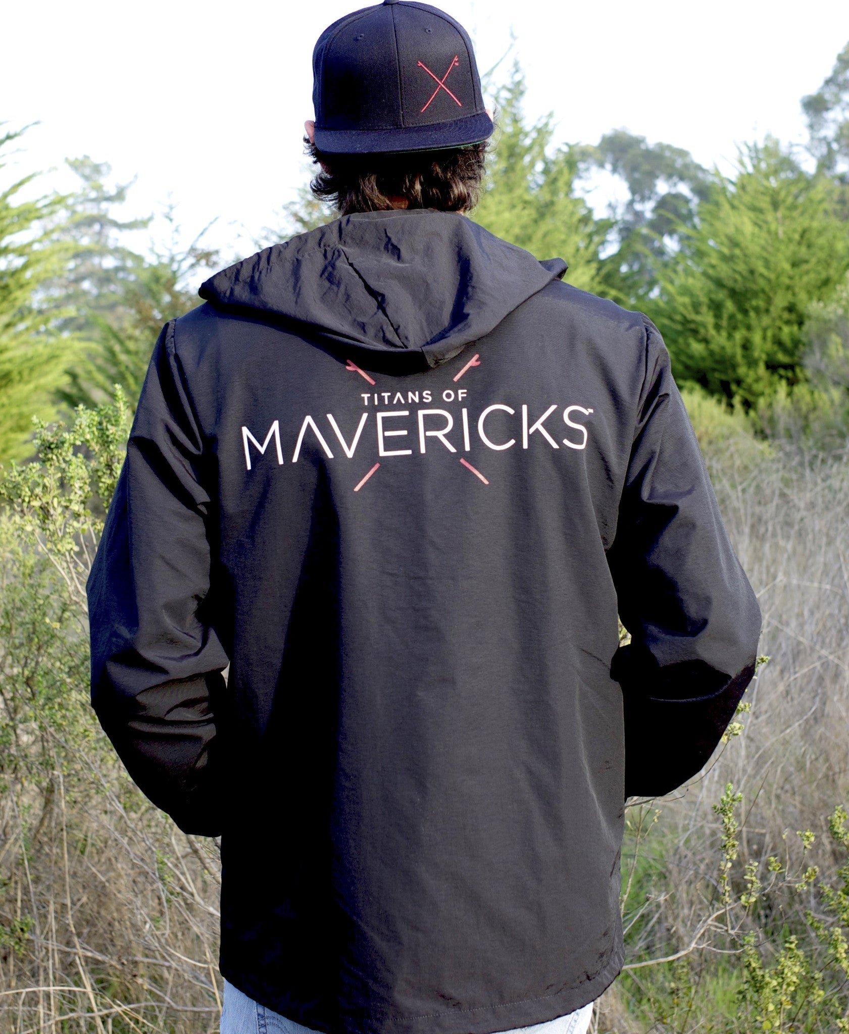 Titans of Mavericks Windbreaker Jacket