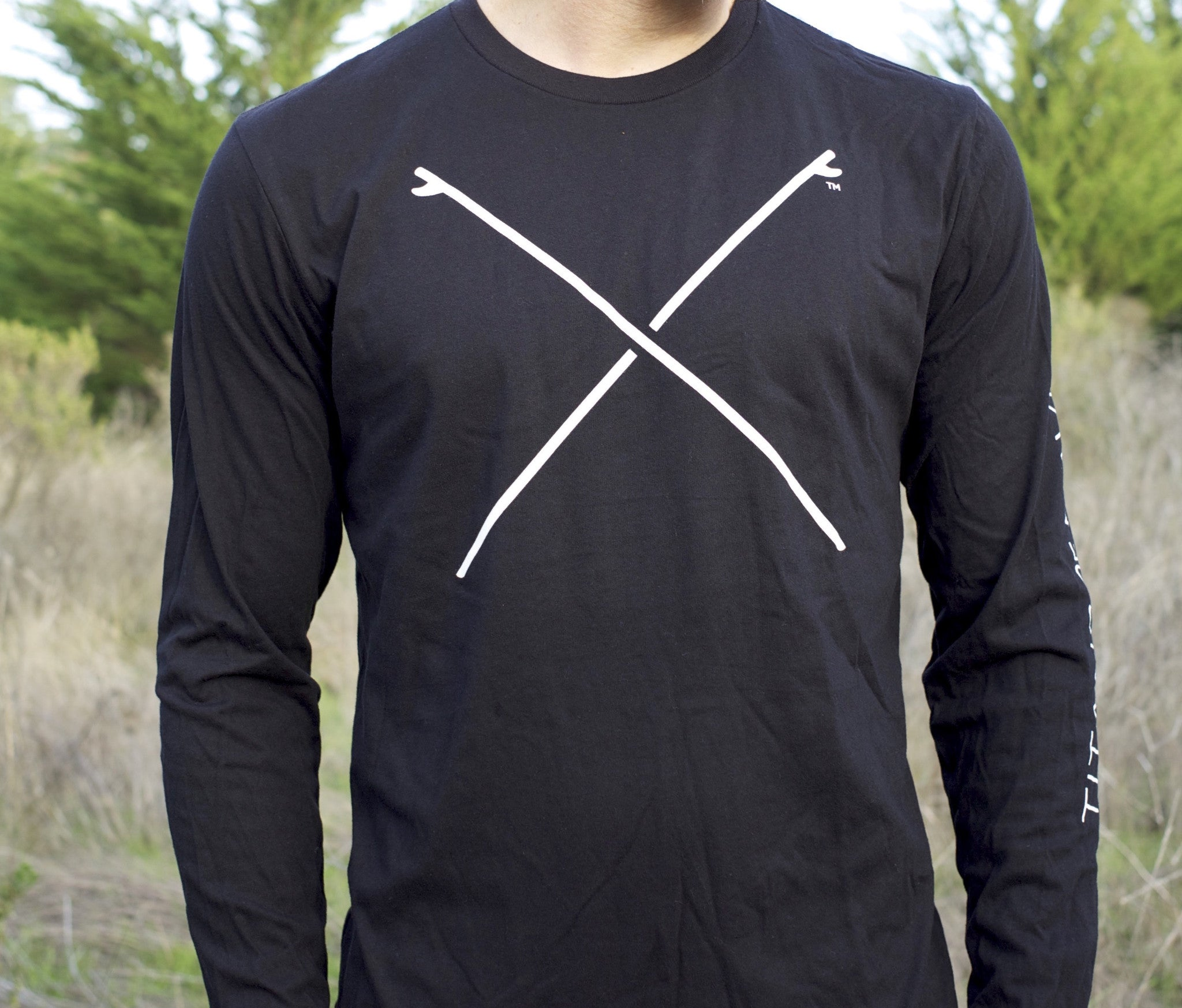 Crossed Boards Long Sleeve T-shirt