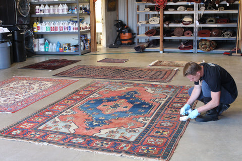 Every rug is thoroughly inspected.