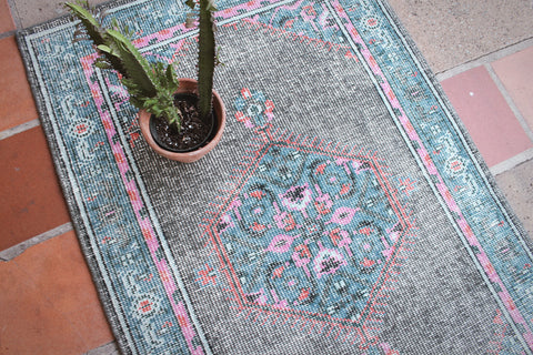 Distressed Indian Rug