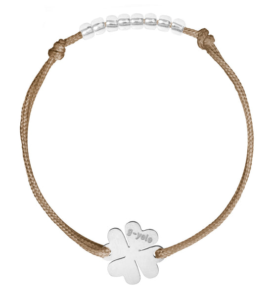 Heart Clover - Satin 1,5 mm (various colors) 27 EUR, Bracelet - Guardian Yolo Jewelry