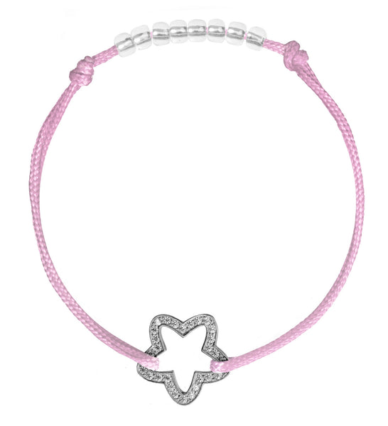 Twinkle star - Satin 1,5 mm (various colors) 34 EUR, Bracelet - Guardian Yolo Jewelry