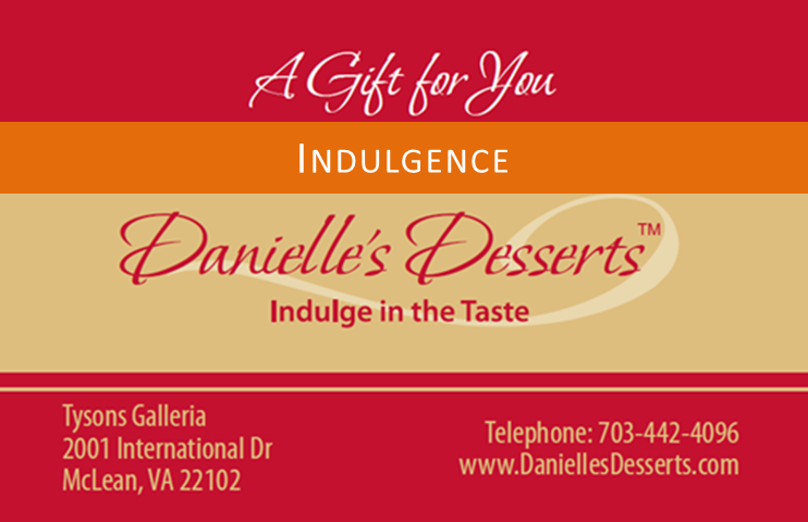 "Gift Card ""Indulgence"""