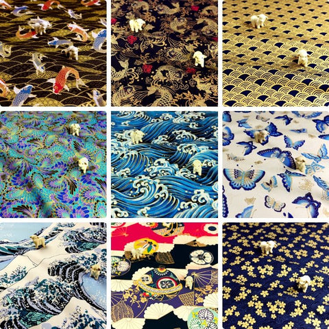 ❤ BACK IN STOCK ❤ July ❤ Japanese Cotton Fabrics