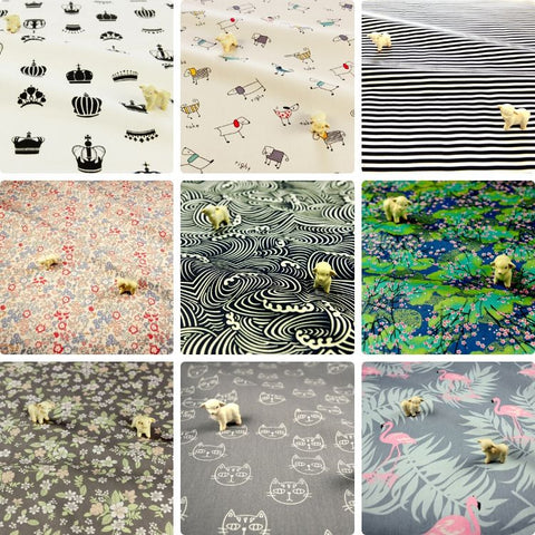 ❤ BACK IN STOCK ❤ July ❤ Popular Cotton Fabrics