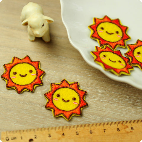 iron on applique - Sun