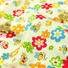 Bugs - orange bees & butterfly cotton fabric FQ1110-08