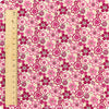 Ditsy - purple & pink cotton fabric FQ1204-37