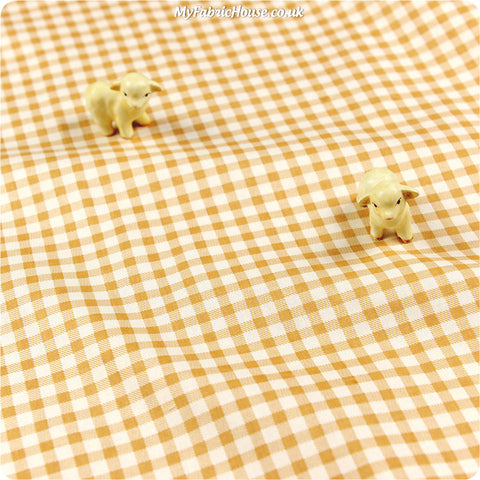 Buy Cotton Fabric - Beige Plaid Fat Quarter FQ £2.29 | My Fabric House