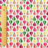 Balloon - multicolour petite balloons cotton fabric FQ1302-40