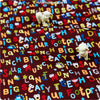Buy cotton fabric - brown Bugs Fat Quarter FQ £2.6 | My Fabric House