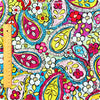 [SALE] Paisley - multicoloured cotton fabric FQ1308-06