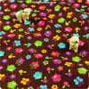 Buy cotton fabric - brown Butterfly Fat Quarter FQ £2.99 | My Fabric House