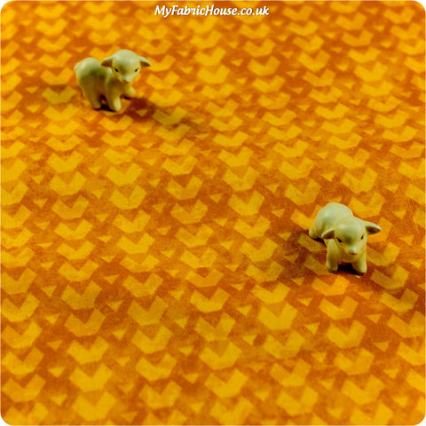 Buy cotton fabric - yellow  Fat Quarter FQ £3.25 | My Fabric House