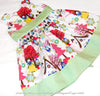 [SALE] Fairy & Princess - white multicoloured Snow White cotton fabric W:96cm FQ1406-40