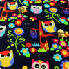 My Fabric House | Buy Cotton Fabric Meter Owls Fat Quarter £3.25