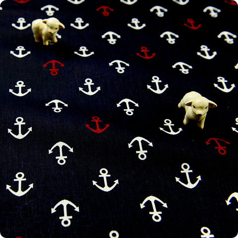 My Fabric House | Buy Cotton Fabric Meter Nautical Fat Quarter £2.99