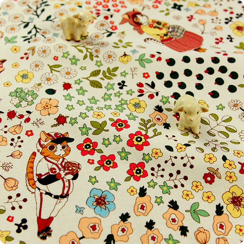 My Fabric House | Buy Cotton Fabric Meter Pets Fat Quarter £3.99