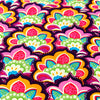 Bold floral - multicoloured fruit tart cotton fabric FQ1501-27